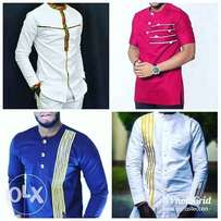 Customized African men outfits
