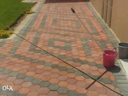 paving building plastering