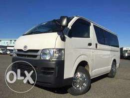 Matatu hiace 7L box, diesel manual fully loaded, finance terms offered