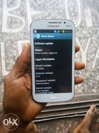Samsung Grand Neo Android GT-I9060 Android 1gb ram very neat Lagos Mainland - image 8