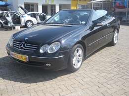 2004 Mercedes Benz CLK320 Auto Convertible