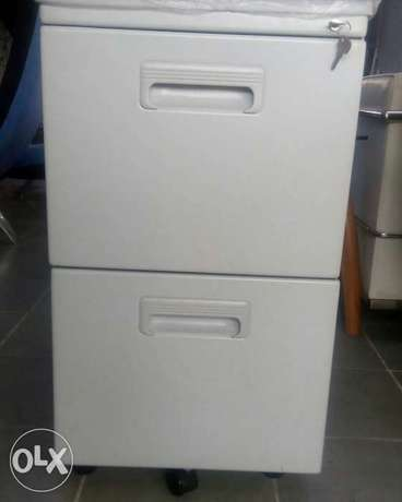 Grey office cabinet Lagos - image 1