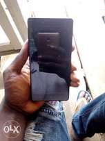 Few months clean infinix hot 4 with receipt with a little crack