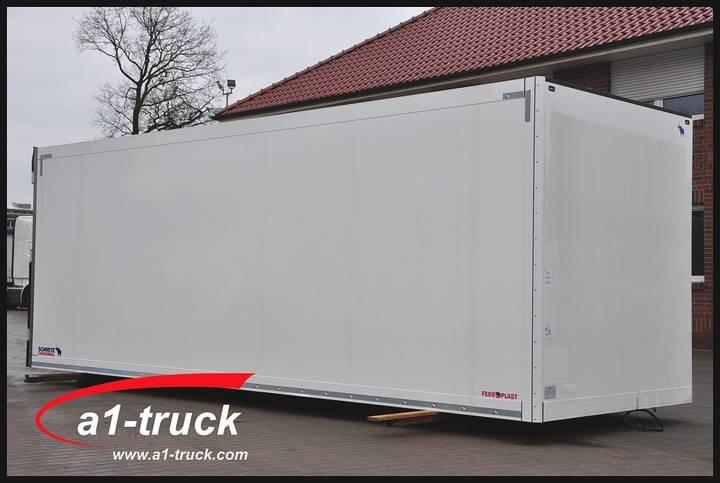 Schmitz Cargobull SKO Kühlkoffer Aufbau NEU isoliert, 5 x vorhanden - 2017