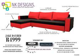 2 seater with daybed couches