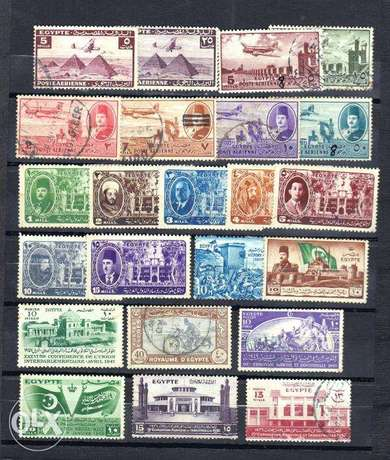 Egypte stamps