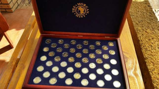 25kt gold coin collection of u.s Pretoria North - image 1