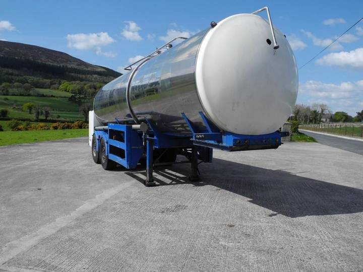 tcl tank  stainless steel tanker - 2004