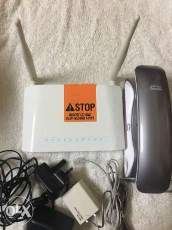 Omantel Router And Land Phone