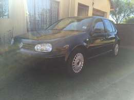 VW Golf 4 Black Automatic 2L for sale. Great condition, no faults