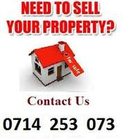 We Sell Real Estate Properties on behalf of owners