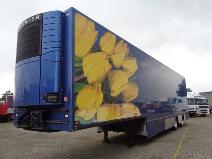Netam-Fruehauf FLOWER TRAILER + CARRIER + HEATER + LIFT - 2003