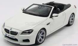 Die cast BMW F13 M6 Cabriolet by Paragon - Brand New
