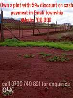 Commercial Emali town plots at 700k