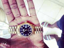 Gold plated Rolex watch