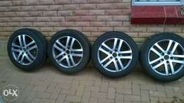 golf 6 rims and Tyres