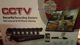 Cctv 8 channel security system