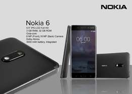 Brand new Nokia 6 32gb -28,499/=