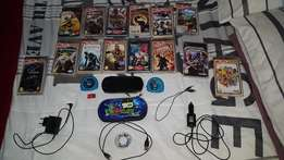 PSP Console plus Games and Accessories For Sale