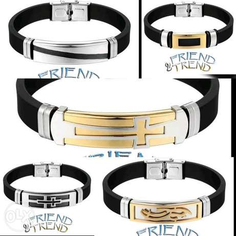 Men Bracelets stainless steel اساوير للرجاا