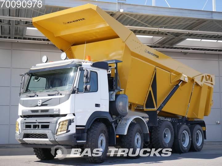 Volvo FMX 520 10X4 30m³-Africa spec-Dumper 55-Ton-Payload Euro 3 - 2018