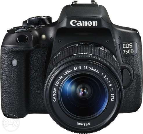 Canon EOS 750D Touch screen DSLR Camera with 18-55mm Lens brand new Nairobi CBD - image 3