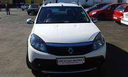 2014 Model Renault Sandero 1.6 step way manual for sale