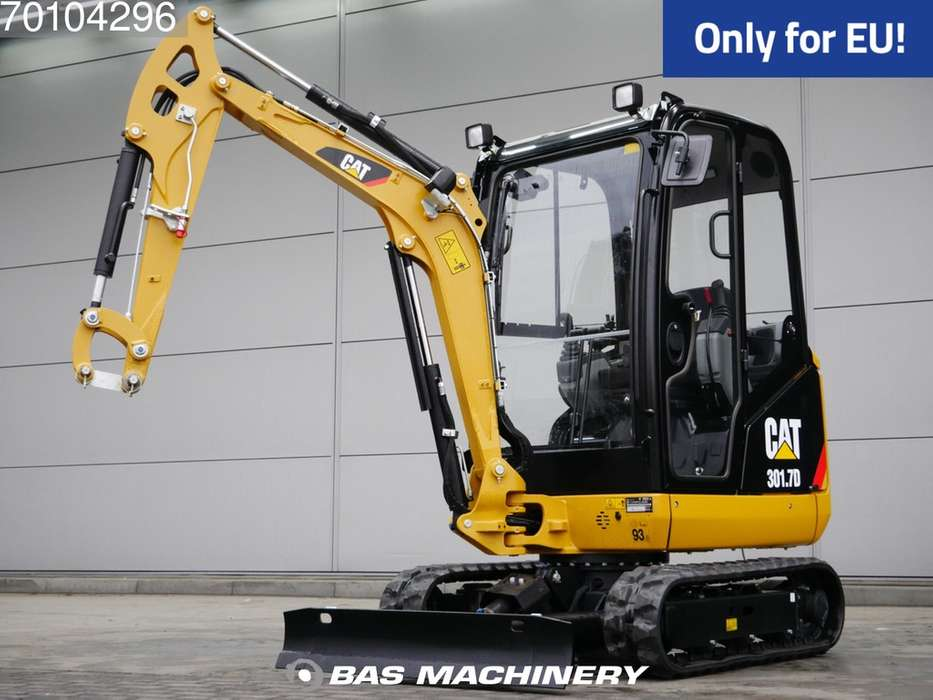 Caterpillar 301.7D CR New Unused - full warranty until 22-02-2021 - 2018