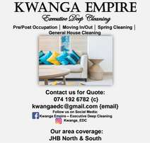 Kwanga Executive Deep Cleaning (Pre/Post Occupation | Spring cleaning)