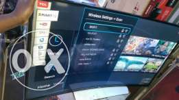 Tcl 49 inch smart curved Tv