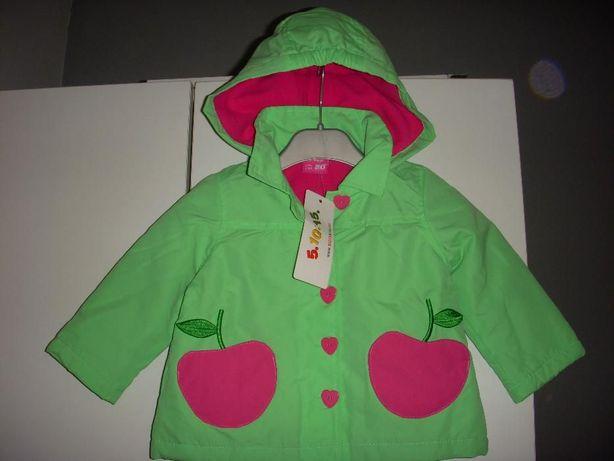 NOWA 5 10 15 kurteczka niemowlęca kurtka wiosenna r.80