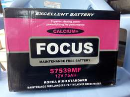 Vehicle battery: Focus Motor Battery.