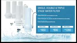 3 Stage water purification system including delivery