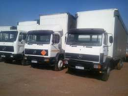 Mercedes Benz 12T Curtain Side Truck For Sale