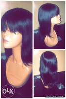 Weaves and wigs are available for sale