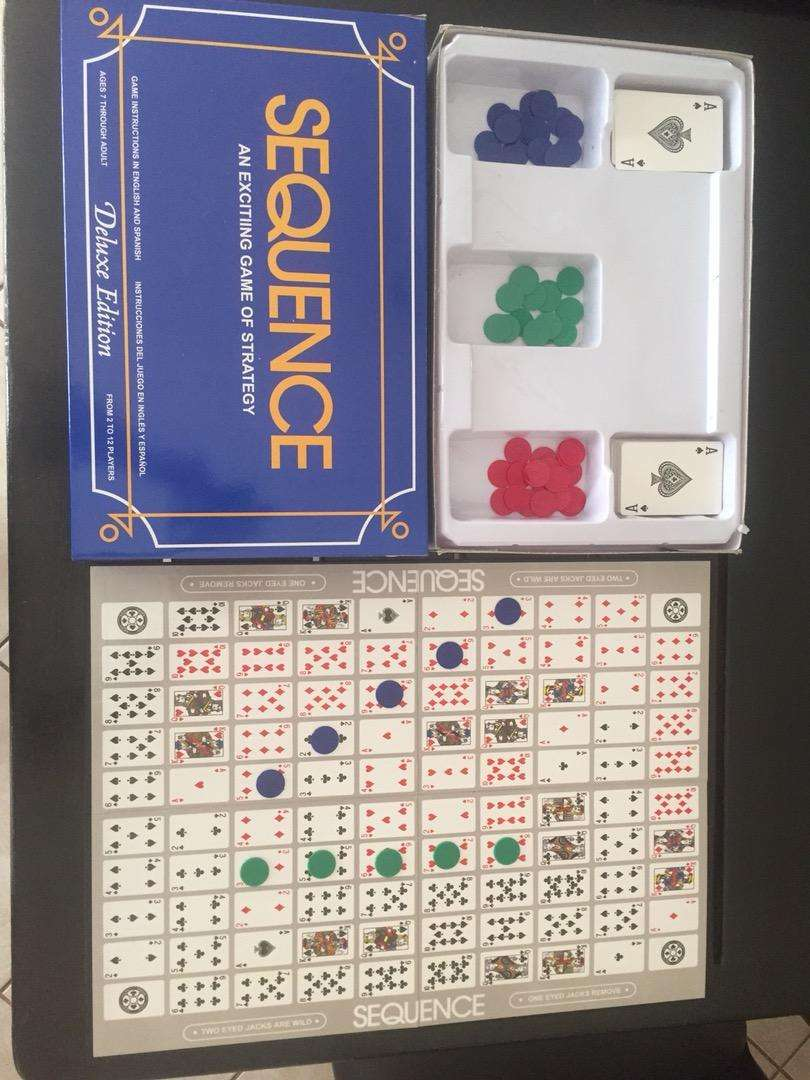Sequence Board Game Roodepoort Toys Games Remote Control