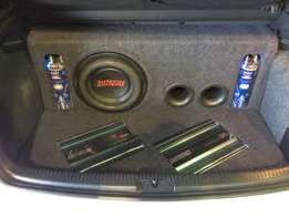 Proffetional Car sound installations