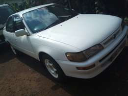 Toyota ae 100 Kal 5-speed 1500ccefi asking 390k