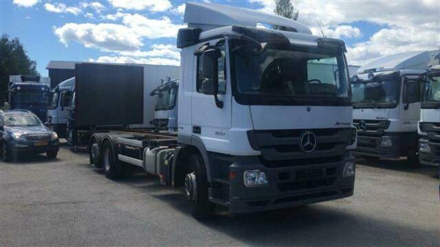 Mercedes-Benz ACTROS 2532 SOON EXPECTED 6X2 BDF EURO 5 - 2012