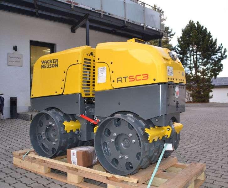 Wacker Neuson Rtkx-sc3 Grabenwalze Verdichtungsanzeige - 2017