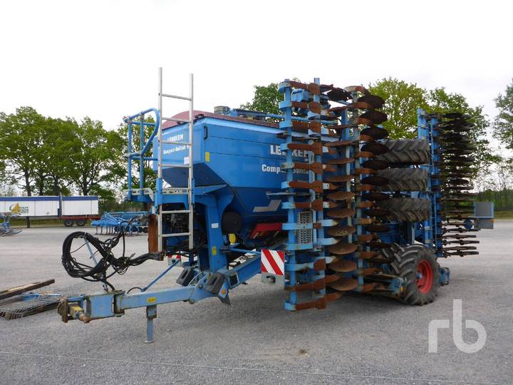 Lemken COMPACT 9 Air Seeder Combination - 2009