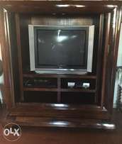 Coricraft large TV cabinet for sale