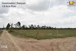 1/8 acre plots in Nanyuki - (Sweetwaters)