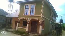 Building of Duplex and 2tenant at ughelli