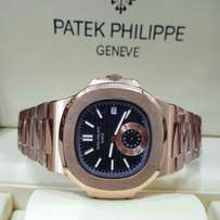 patek philippe nautilus rose gold chain watch