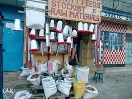 Animal feeds and raw materials
