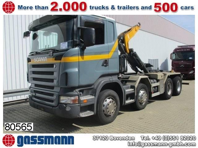 Scania r420 cb8x4mnz, retarder - 2005