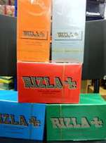Rizlas Rolling Papers - Red,Blue,Green,Silver - all colors, all sizes