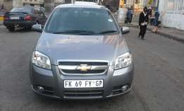 Chevrolet avio 1.4 sedan grey in color 2010 model 91000km R68000