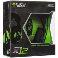 Ear Force X12 Gaming Headset & AMPLIFIED STEREO SOUND, Variable Bass U